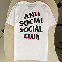 Футболка ASSC Black Pink | Новенькая | Бирка Anti Social Social Club , фото 2