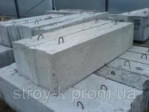 Фундаментные блоки 240х30х60,120х30х60, 80х30х60  ФБС