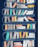 Скретч постер #100 ДЕЛ Books edition (русский язык) в тубусе, фото 4