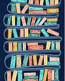 Скретч постер #100 ДЕЛ Books edition (русский язык) в тубусе, фото 5