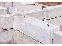 Железобетонные фундаментные блоки 240х60х60,120х60х60, 80х60х60