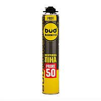 Пена монтажная Budmonster Prime 50 профессиональная 750 мл, 870 г (10015)