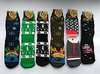 Махровые мужские носки Filin новый год