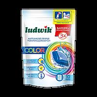 Капсулы для стирки цветных тканей color 32 шт