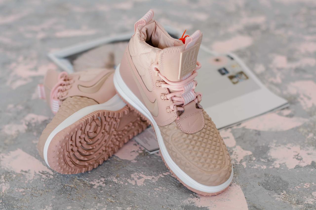 Женские кроссовки Nike Lunar Force 1 Duckboot Pink 44b37ffb934f6