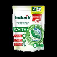 Капсулы для стирки белых тканей white 32