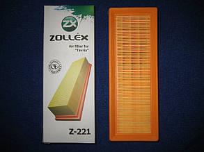 Фільтр повітряний Z-221 Таврія Славута ЗАЗ 1102 1103 1105 інжектор Zollex