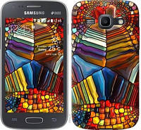"""Чехол на Samsung Galaxy Ace 3 Duos s7272 Разноцветный витраж """"3343c-33-328"""""""