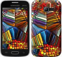 """Чехол на Samsung Galaxy Star Plus S7262 Разноцветный витраж """"3343c-360-328"""""""