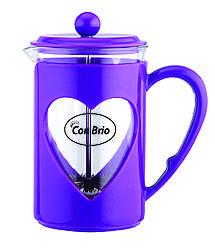 Заварник Con Brio СВ-5660, 600 мл, фиолетовый