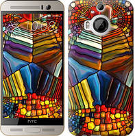 """Чехол на HTC One M9 Plus Разноцветный витраж """"3343c-134-328"""""""