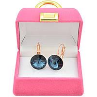 Серьги с кристаллами Сваровски – эффектный подарок подруге
