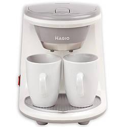 Кофеварка капельная Magio МG-342, с 2-мя чашками