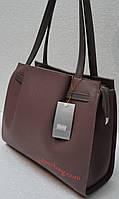 Женская сумка из эко кожи с поясом