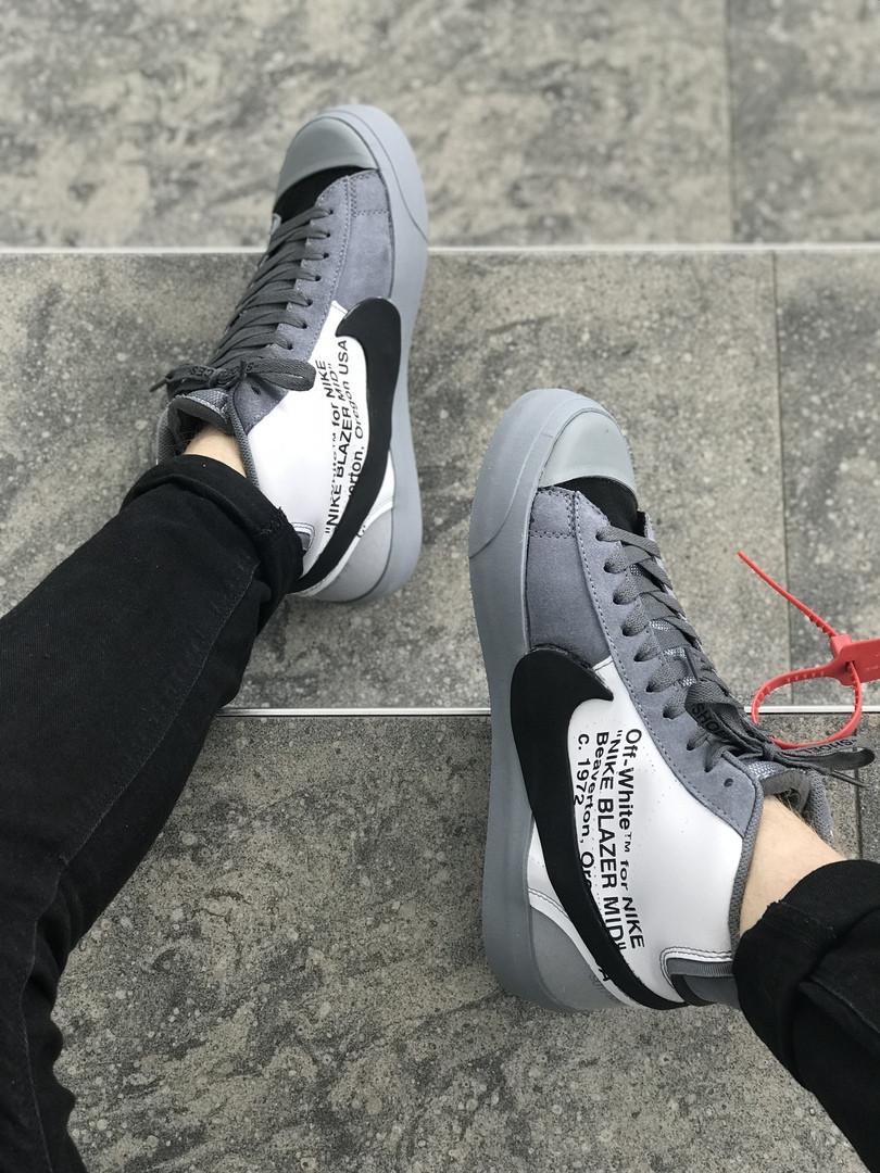 Кроссовки Nike X Off White (реплика) — в Категории