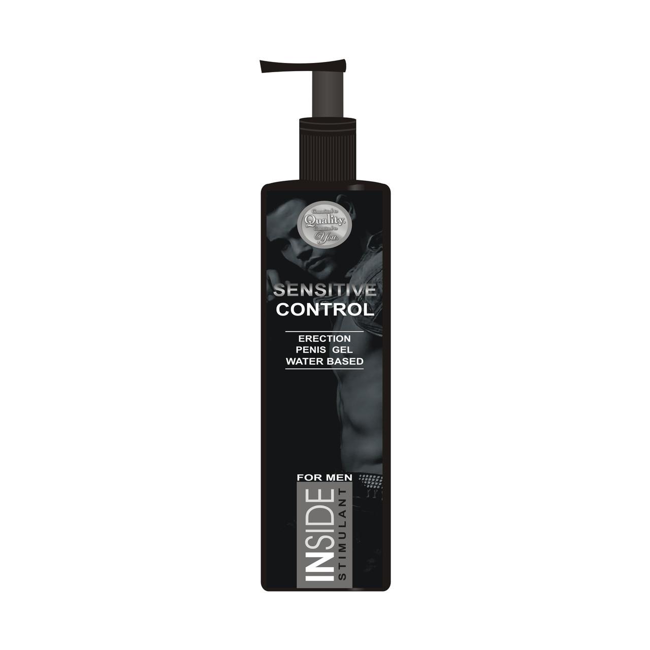Усиливающий потенцию гель-лубрикант INSIDE Stimulant Sensitive Control 150ml