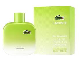 Туалетная вода мужская Lacoste Eau de Lacoste L.12.12 Pour Lui Eau Fraiche, 100 мл