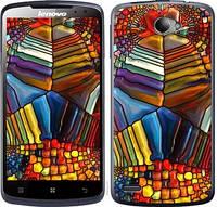 """Чехол на Lenovo S920 Разноцветный витраж """"3343c-53-328"""""""