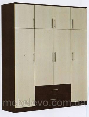 Шкаф 4ДЯ Модерн ДСП   2100х1800х530мм  Абсолют, фото 2