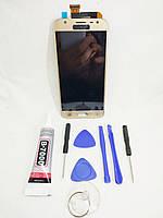 Экран, дисплей, модуль Samsung Galaxy J3  J330 gold, фото 1