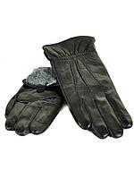Мужские кожаные перчатки на махре фирма МариCLASSIC оптом от 5 пар