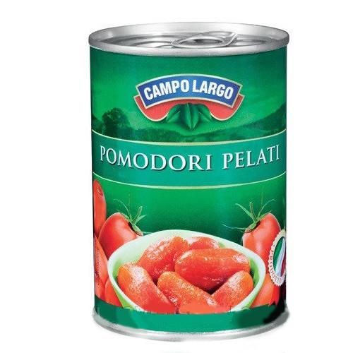 Томаты очищенные в соку  Pomodon Pelati  480 г