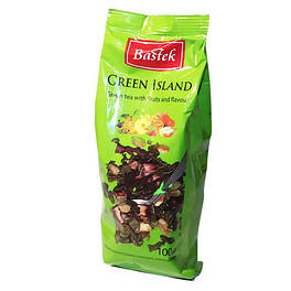 Чай Bastek Green Island зеленый фруктовый 100г