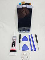 Экран LCD модуль original Samsung Galaxy J3  J330 blue, фото 1