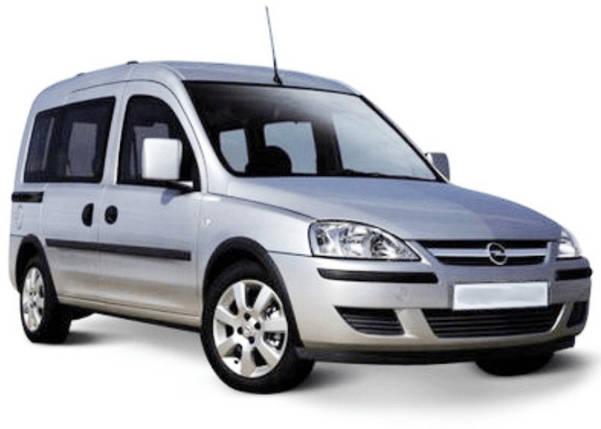 Лобовое стекло на Opel Combo (2001-2011) , фото 2