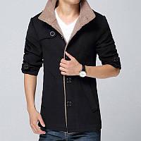 Куртка для мужчины зимняя или осенняя! Куртка пиджак с мехом!, фото 1