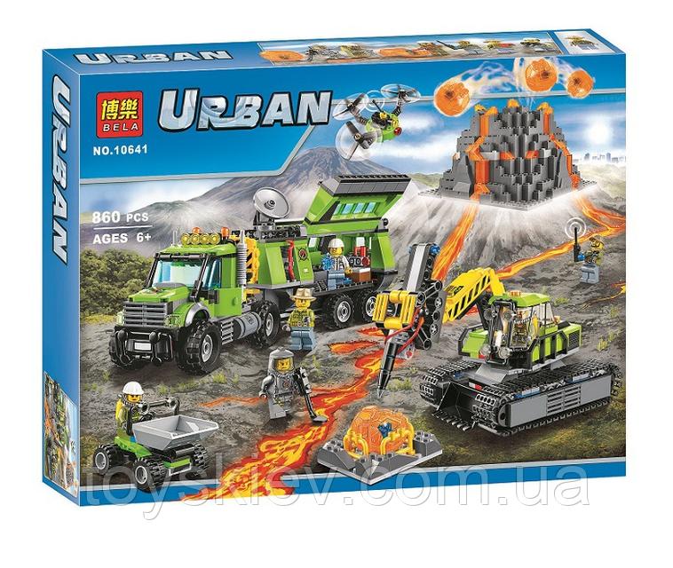 """Конструктор Bela 10752 (аналог Lego City 60168) """"Операция по спасению парусной лодки"""", 206 деталей"""