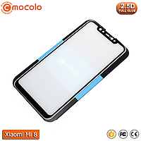 Защитное стекло Mocolo Xiaomi Mi 8 (Black) - Full Glue, фото 1