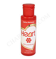 Ремувер для кутикулы и огрубевшей кожи Heart Germany - Milk and Honey