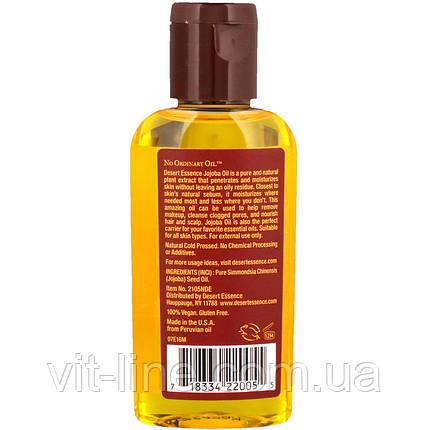 Desert Essence, 100%  масло жожоба, (59 мл), фото 2