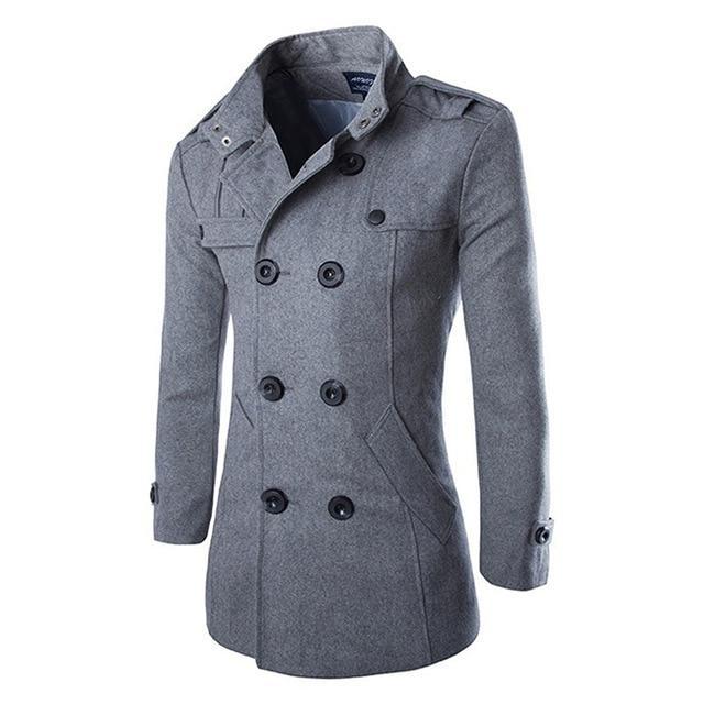 Куртка для мужчины зимняя или осенняя! Серое зимнее пальто!
