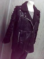 Пальто женское в черном цвете, фото 1