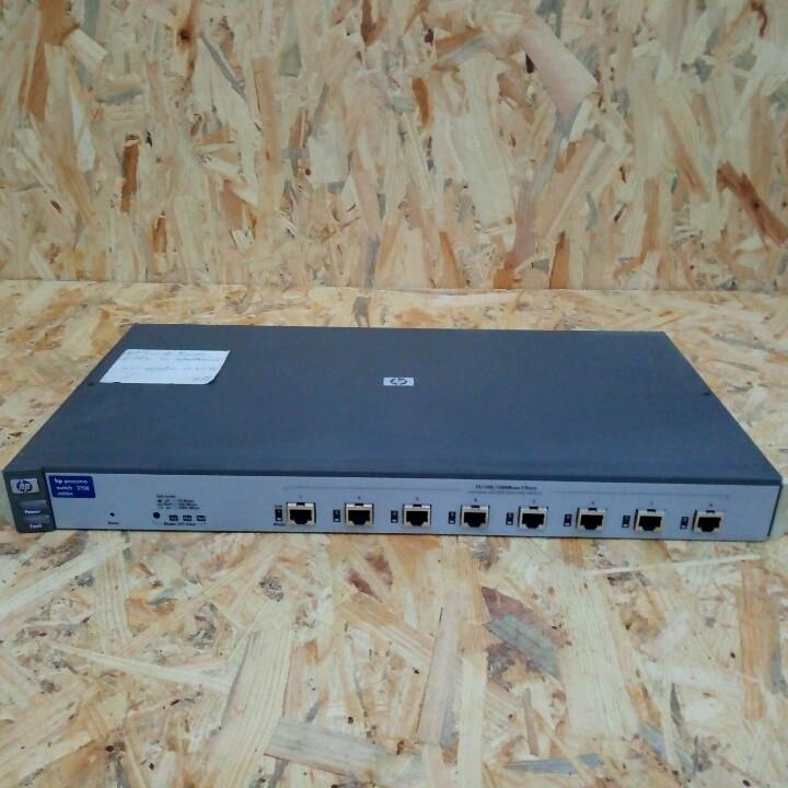 Сетевой коммутатор HP Switch 2708 J4898A , 8 T-Ports 10/100/1000 Mbps