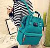 Женский рюкзак сумка городской школьный Living Зеленый, фото 4