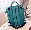 Женский рюкзак сумка городской школьный Living Зеленый, фото 5