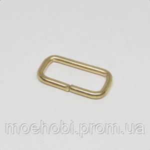 Рамки для сумок (16мм) золото,  4158