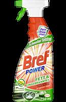 Средство жидкое для удаления жира и нагара Bref Power(Бельгия) 750мл.