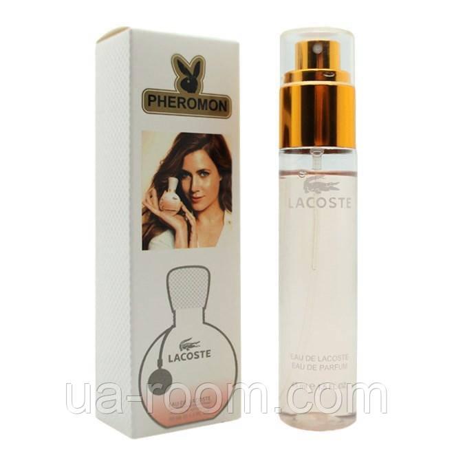 Женский  мини-парфюм с феромоном Lacoste , 45 мл.