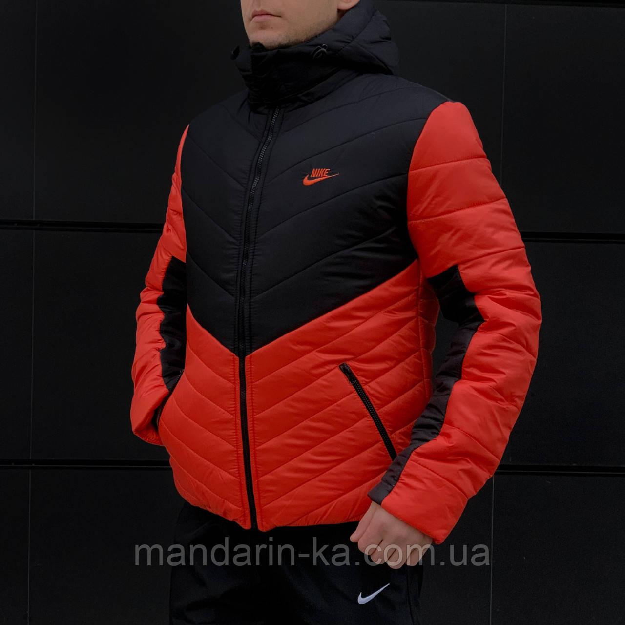 Зимняя  мужская куртка   Nike Найк    (реплика)