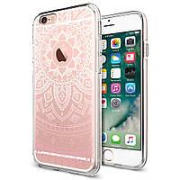 Чехол Spigen для iPhone 6s / 6 Liquid Shine, Shine Pink, фото 1