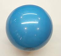 Мяч Tuloni 18 cм Metallic цв. Light Blue Art. T0285, фото 1