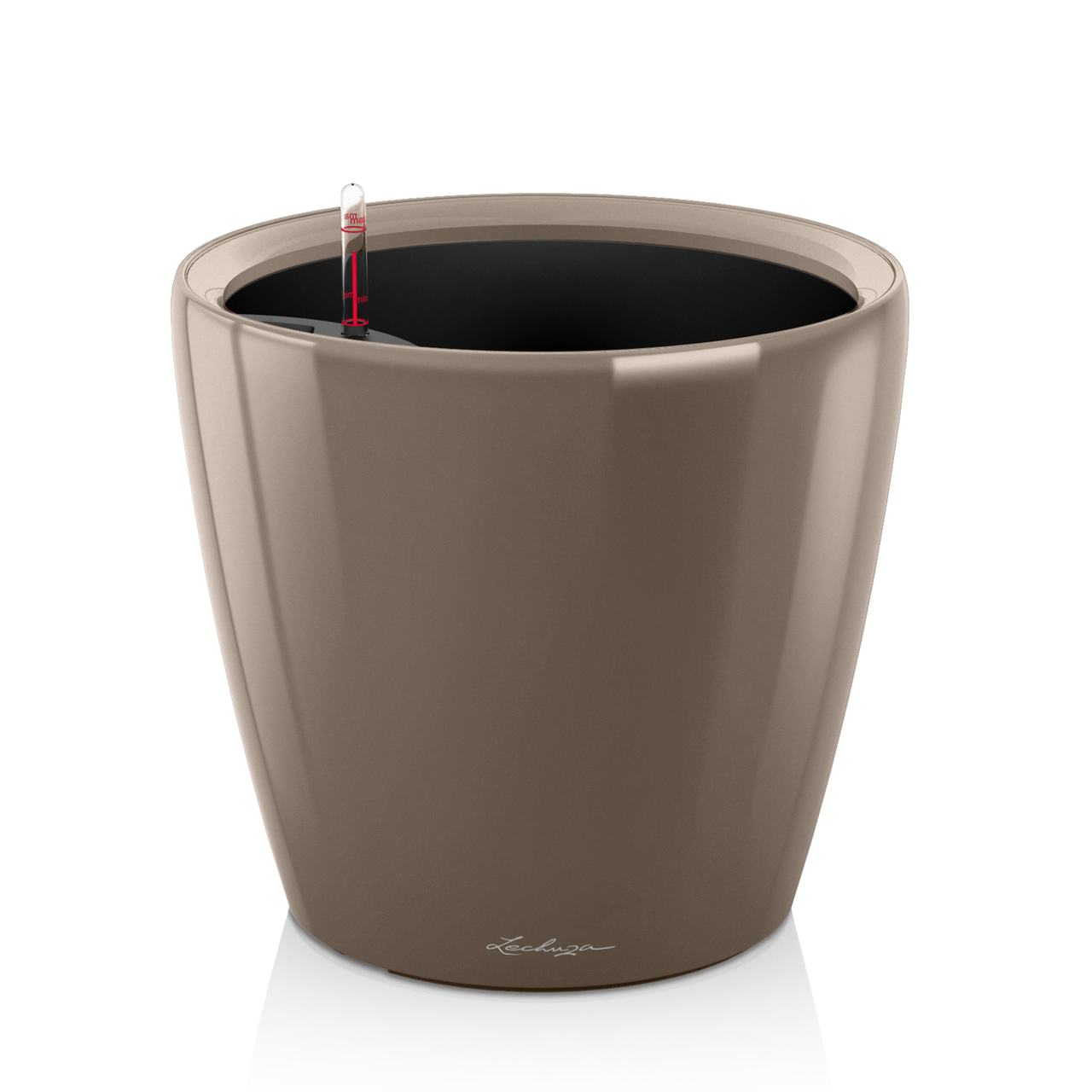 Кашпо Lechuza Classico Premium LS 35 серо-коричневый