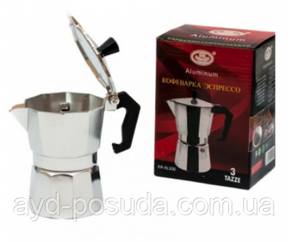 Кофеварка гейзерная, арт. ХВ002-6