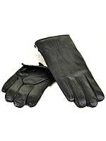 Мужские кожаные перчатки на кролике фирма МариCLASSIC оптом от 5 пар