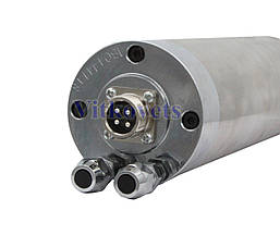Шпиндель для ЧПУ GDZ-65-800A 65X195, 0.8 kw ER11-A 65мм водяное охлаждение, фото 2
