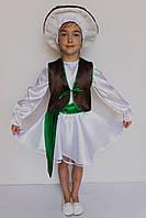 Карнавальный костюм гриб Боровик для девочки, рост 100-120 см